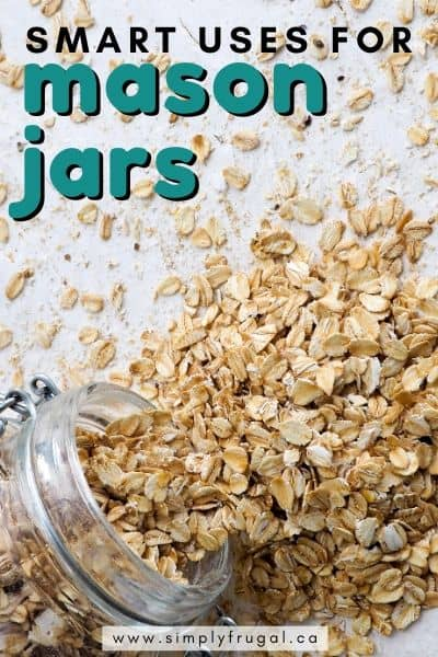 Here are 5 smart uses for mason jars that you're sure to love!