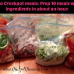 Prep 16 Freezer Meals in an Hour