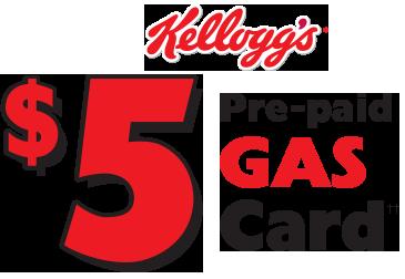 kelloggs gas cards
