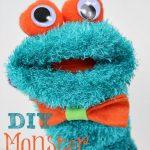 DIY Monster Sock Puppet
