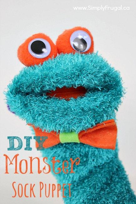 how to make a trekkie monster puppet