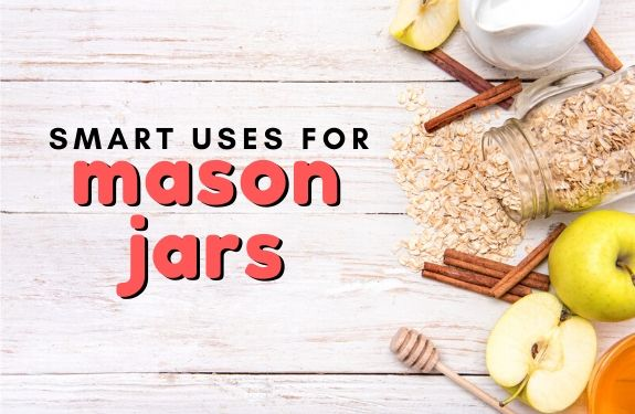Here are some inventive and fun ways to reuse empty mason jars!
