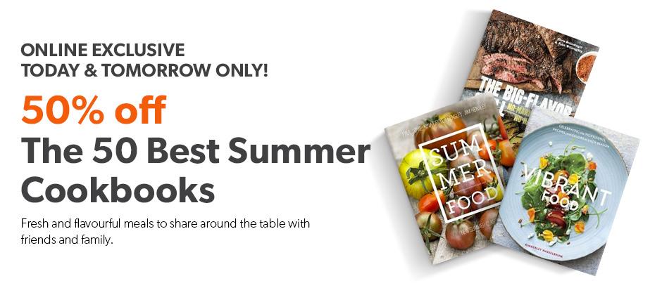 summer cookbooks