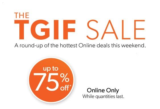 TGIF sale