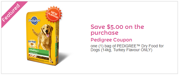 pedigree coupon