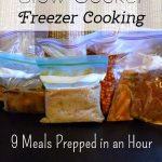 Slow Cooker Freezer Cooking: 9 Meals in About 3 Hours