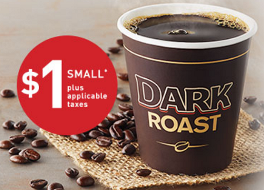 tim hortons small dark roast