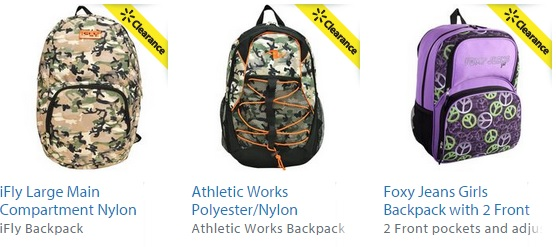 walmart backpacks