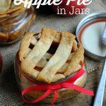 Apple Pie in Jars