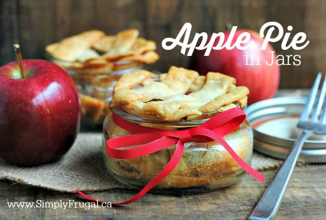 Apple Pie in Jars 2