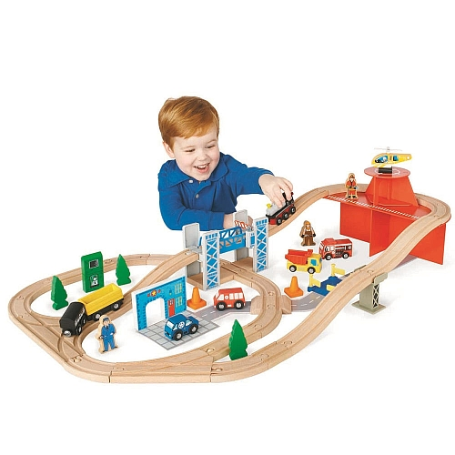 Toys R Us Trains : Toys r us imaginarium rescue train set off
