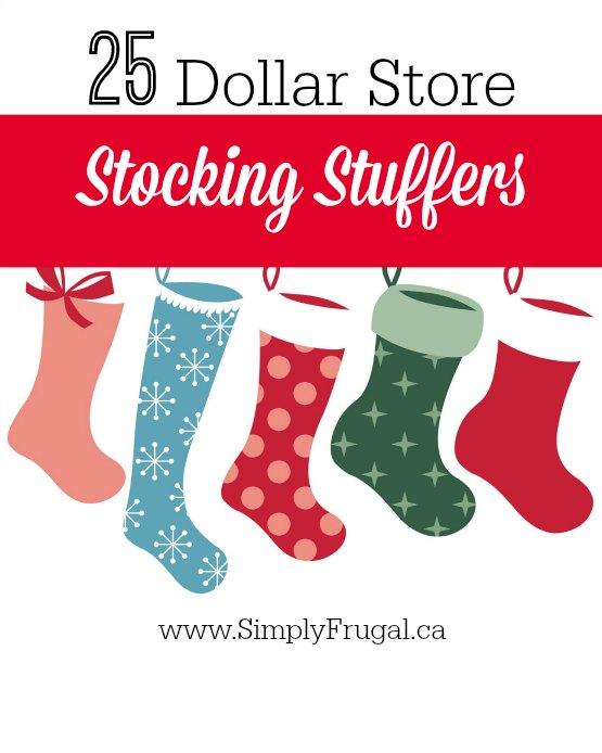 Dollar store stocking stuffers