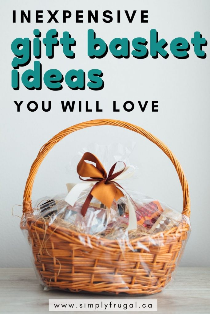 You will love these inexpensive gift basket ideas! They will get you started on your best gift giving season yet!