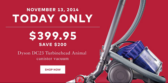 Final Day: Hudson's Bay Dyson Sale. This is the last day for the Dyson sale on the Hudson's Bay website! You can save $ off your next Dyson vacuum.