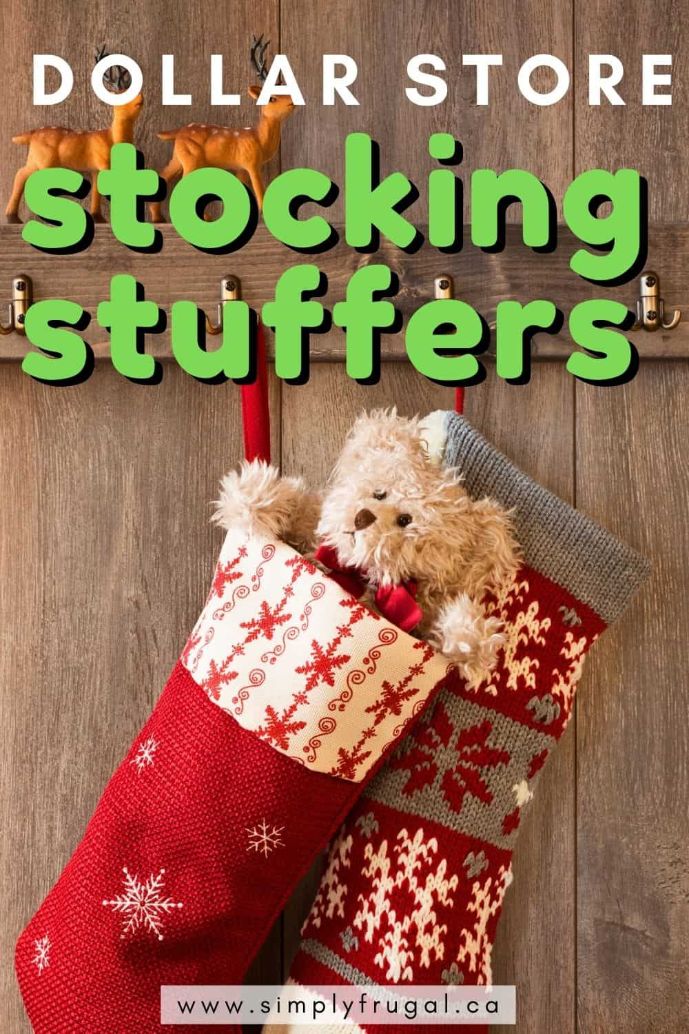 Stocking Stuffers don't have to be expensive! Dollar stores are a great place to look for fun surprises for everyone. Here are some of my favorites!