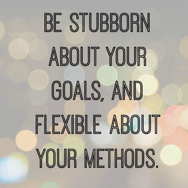 flexible goals