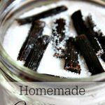 A Homemade Christmas Gift: Vanilla Sugar