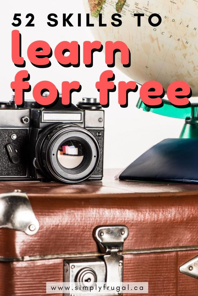 Learning new skills or hobbies doesn't have to cost a lot. In fact, learning something new doesn't have to cost a cent! Here are 52 fun things you can learn for free!