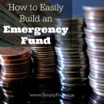 How to Easily Build an Emergency Fund