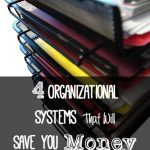 4 Organizational Systems That Will Save You Money