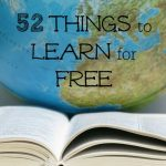 52 Ways to Save: Learn Something for Free (Week 4)