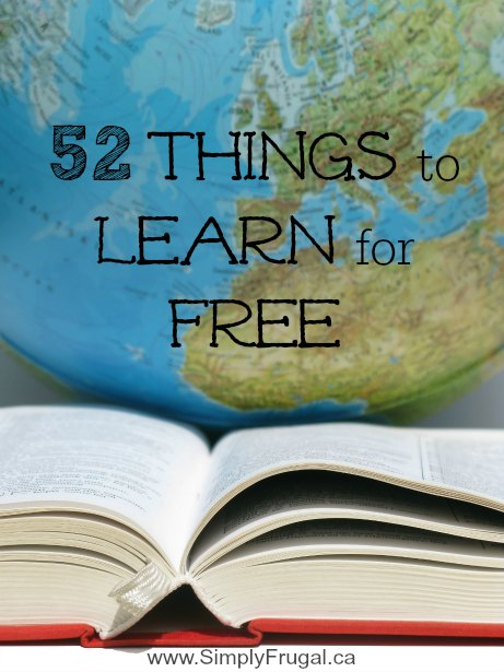 Things to Learn for Free