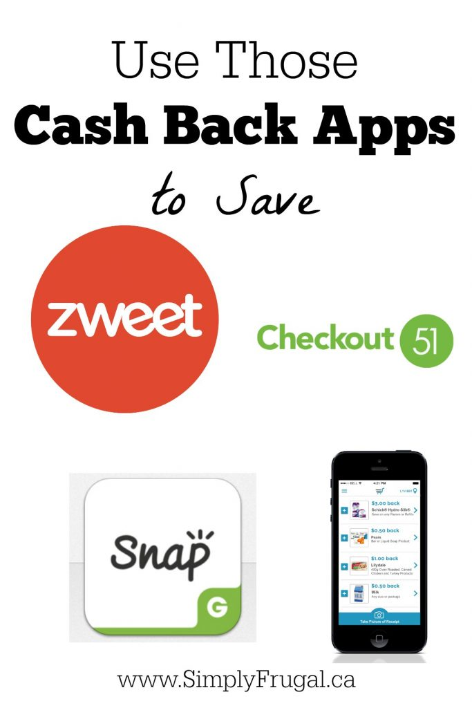 52 Ways to Save: Use Those Cash Back Apps