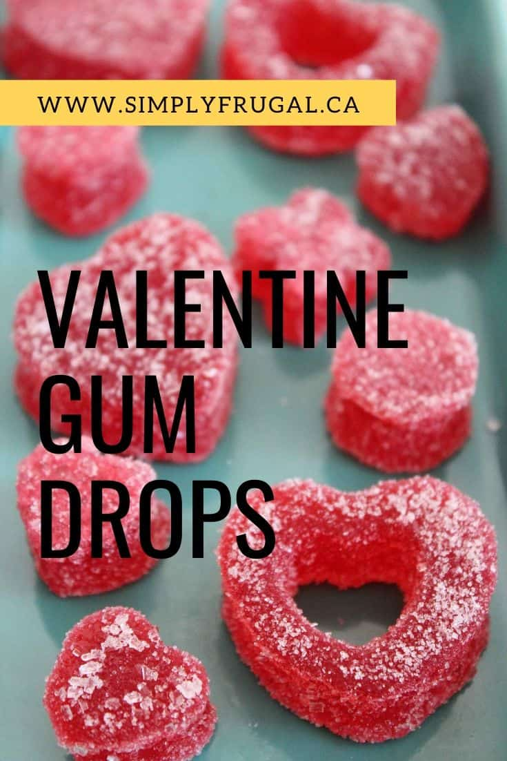 Wow your Valentine with these delicious DIY gum drops!