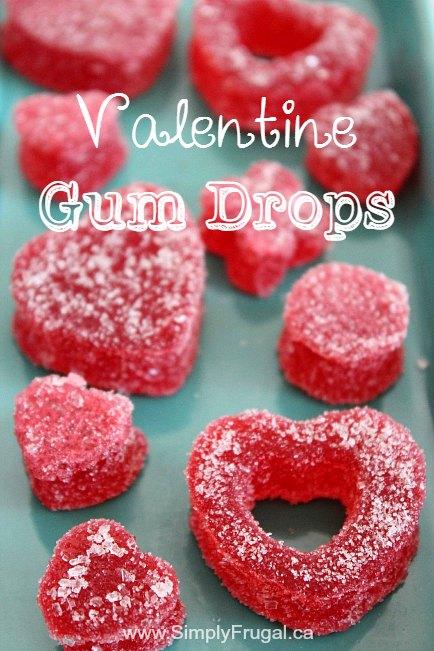 Valentine Gum Drops