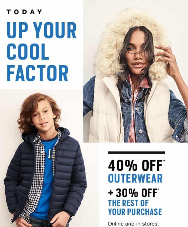 gap outerwear sale
