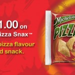 Coupon for $1 off Michelina's Pizza Snax