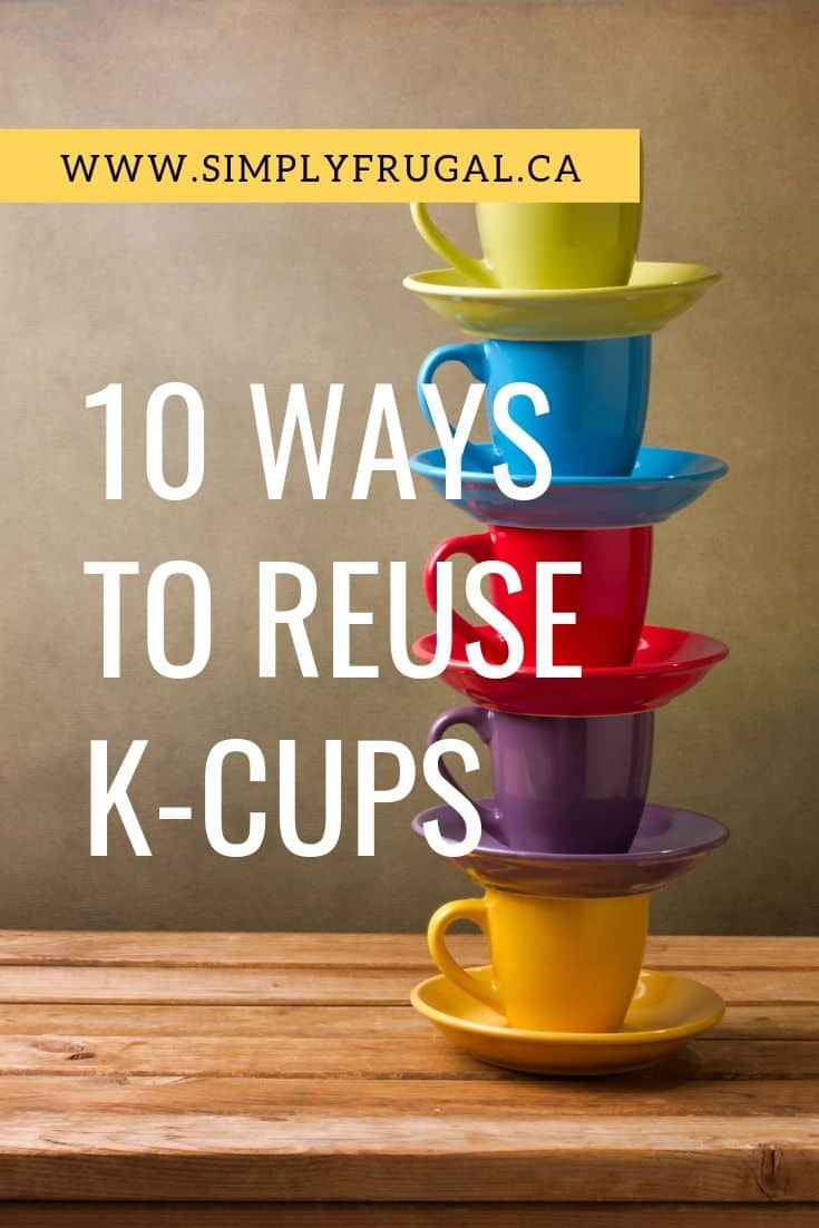 Take a peek at 10 ways to reuse K-cups that you can try, long after the coffee is gone!