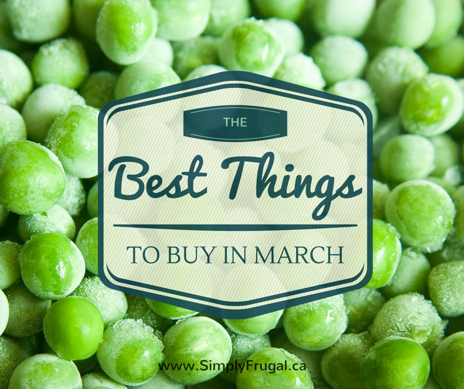 The Best Things to Buy in March