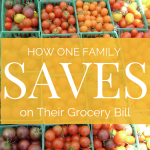How One Family of Three Saves on Their Grocery Bill