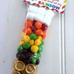 St. Patrick's Day Skittles Rainbow Treat Bag (+ Free Printable Bag Topper)