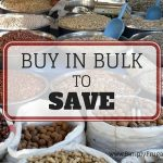 52 Ways To Save: Buy in Bulk (Week 13)