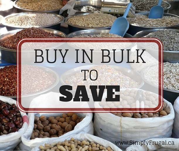 Buy in Bulk to Save - Buy in Bulk to Save Money- Learn what you should buy in bulk and what you shouldn't buy in bulk to save money!