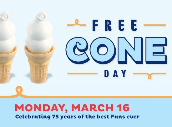 DQ Free-Cone-Day
