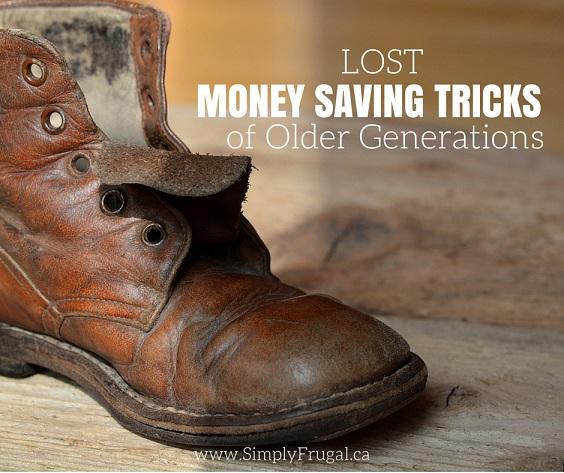 Lost Money Saving Tricks of Older Generations
