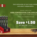 Tosca Vanilla Beans Coupon for $1 Off