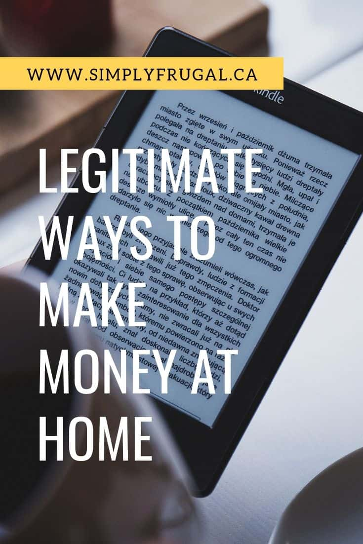 Here are 5 legitimate ways to make money at home so you can have extra cash on hand, pay down debt, or save up for that special purchase you have been eyeing.