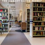 The library is a treasure trove of savings. Here are 6 ways the library will save you money on things other than books. #moneysavingtips #simplyfrugal #moneytips #library