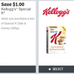 New Kellogg's Coupons from webSaver.ca