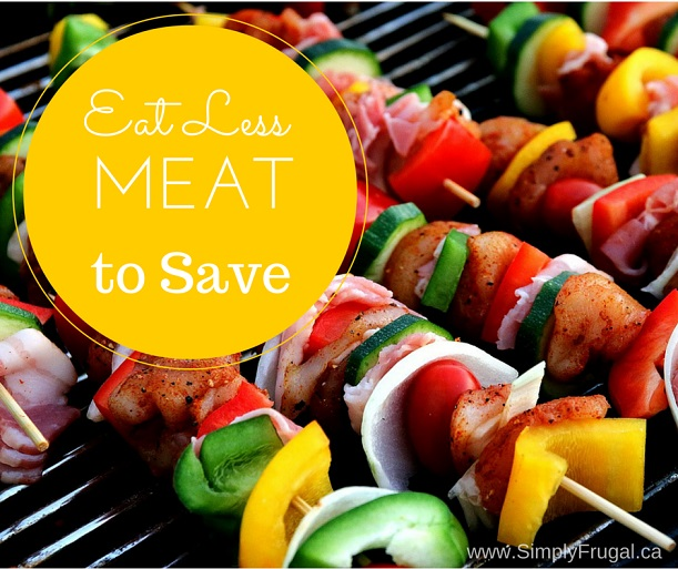 Eat Less Meat to Save