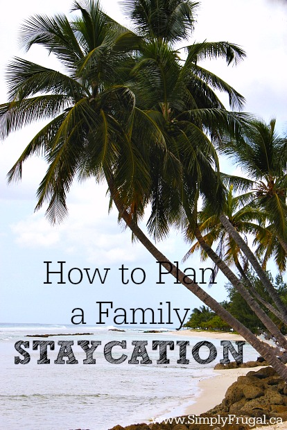 6 steps to Plan a Family Staycation that everyone is sure to remember for years to come.