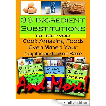 33 ingredient substitutions