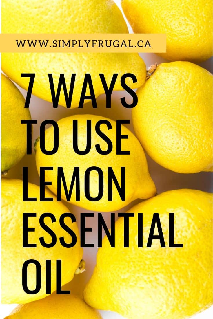 If you have been curious about what lemon essential oil can do for you, take a look at these 7 ways to use lemon oil and make your life just a little bit easier!