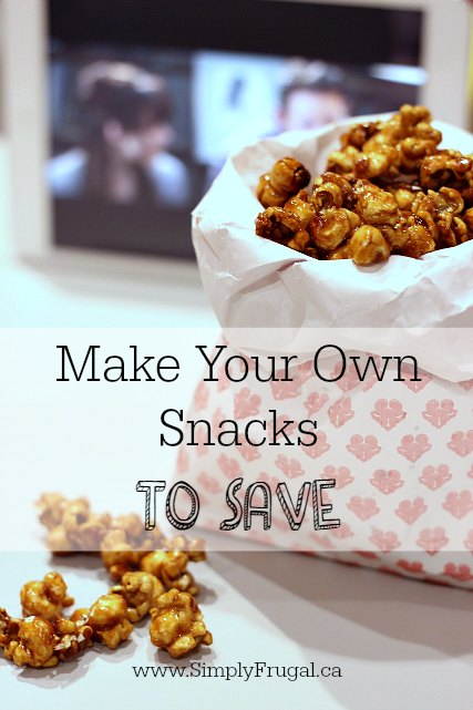 Make your own snacks