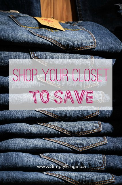 Shop Your Closet to Save
