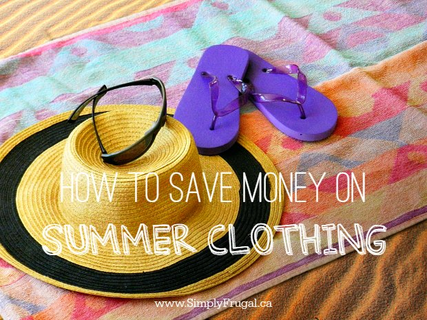 How to Save Money on Summer Clothing - learn how to update your summer wardrobe with these simple money saving tips!